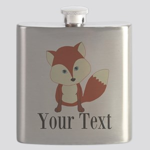 Personalizable Red Fox Flask