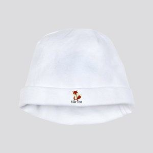 Personalizable Red Fox baby hat