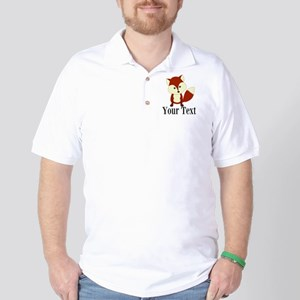 Personalizable Red Fox Golf Shirt
