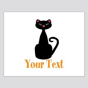 Personalizable Orange Black Cat Posters