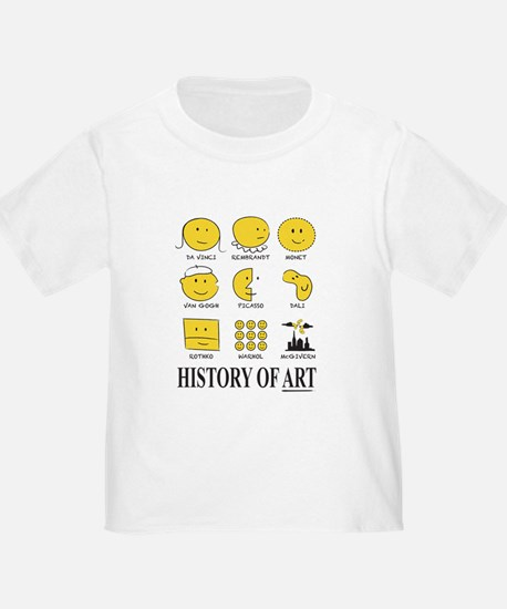 History Of Art By Smiley - T