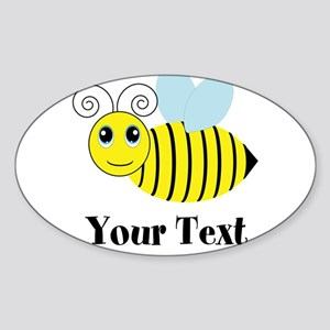 Personalizable Honey Bee Sticker