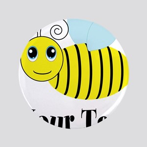 Personalizable Honey Bee Button