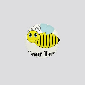 Personalizable Honey Bee Mini Button