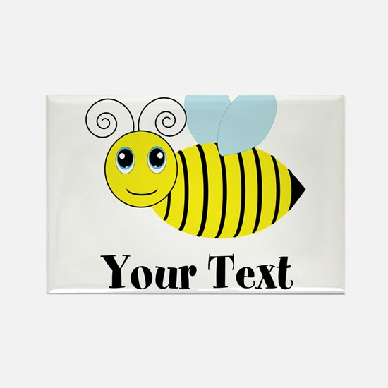 Personalizable Honey Bee Magnets