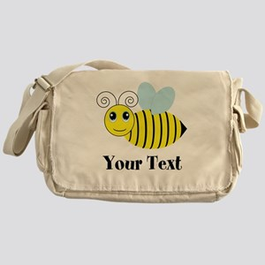 Personalizable Honey Bee Messenger Bag