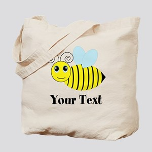 Personalizable Honey Bee Tote Bag