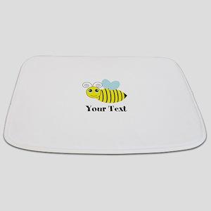 Personalizable Honey Bee Bathmat