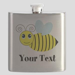 Personalizable Honey Bee Flask