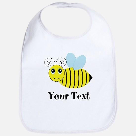 Personalizable Honey Bee Baby Bib