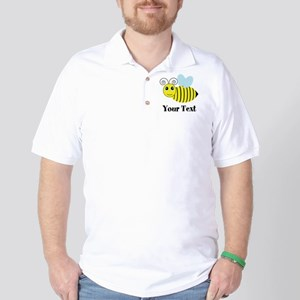 Personalizable Honey Bee Golf Shirt