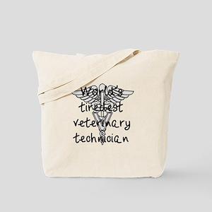 Tiredest Vet Tech Tote Bag