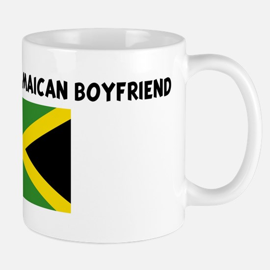 PROPERTY OF MY JAMAICAN BOYFR Mug