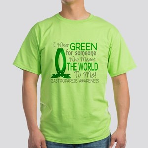 Gastroparesis Means World to T-Shirt
