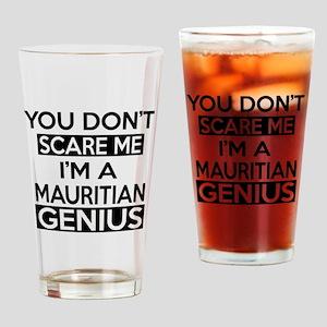 You Do Not Scare Me I Am Mauritian Drinking Glass