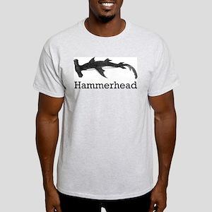 Vintage Hammerhead Shark Light T-Shirt