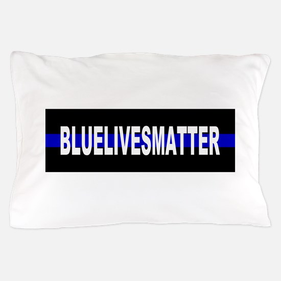 Funny Sheriff thin blue line Pillow Case