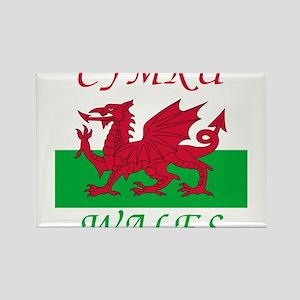 Wales-Cymru Magnets
