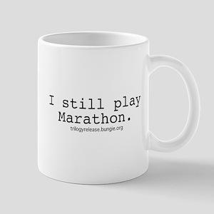 """I still play Marathon."" Lefty Mug"