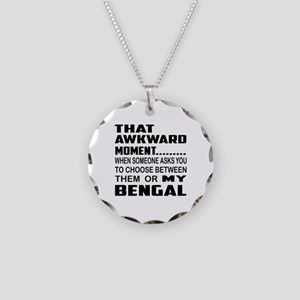 That awkward moment.... Beng Necklace Circle Charm