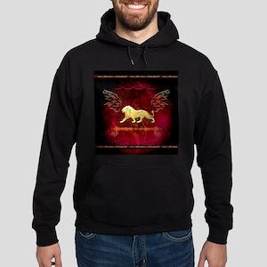 Lion in golden colors Sweatshirt