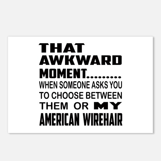 That awkward moment.... A Postcards (Package of 8)