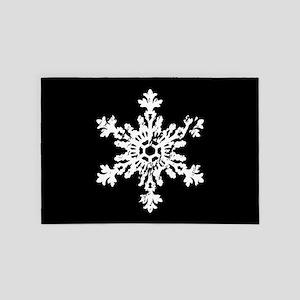 Big Snowflake 4' x 6' Rug