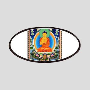 Tibetan Thangka Prabhutaratna Buddha Patch