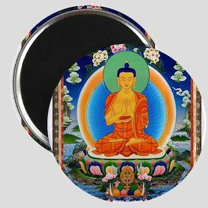 Tibetan Thangka Prabhutaratna Buddha Magnets