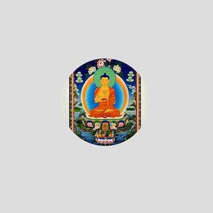 Tibetan Thangka Prabhutaratna Buddha Mini Button
