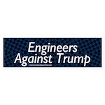 Engineers Against Trump Bumper Sticker