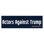 Actors Against Trump Bumper Sticker