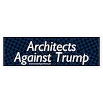 Architects Against Trump Bumper Sticker
