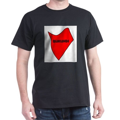 Burundi Silhouette Map T-Shirt