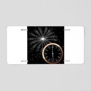 New Year Firework Aluminum License Plate