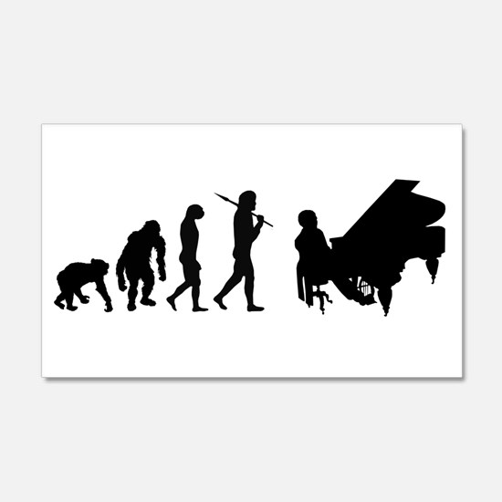 Concert Pianist Wall Decal