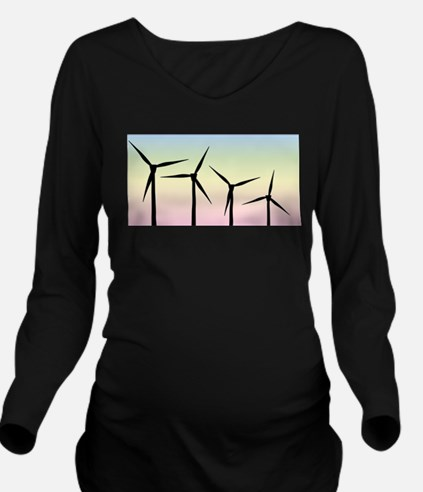 Wind Farm Morning T-Shirt