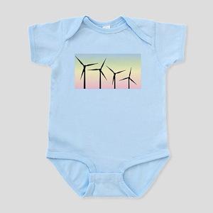 Wind Farm Morning Body Suit