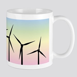 Wind Farm Morning Mugs