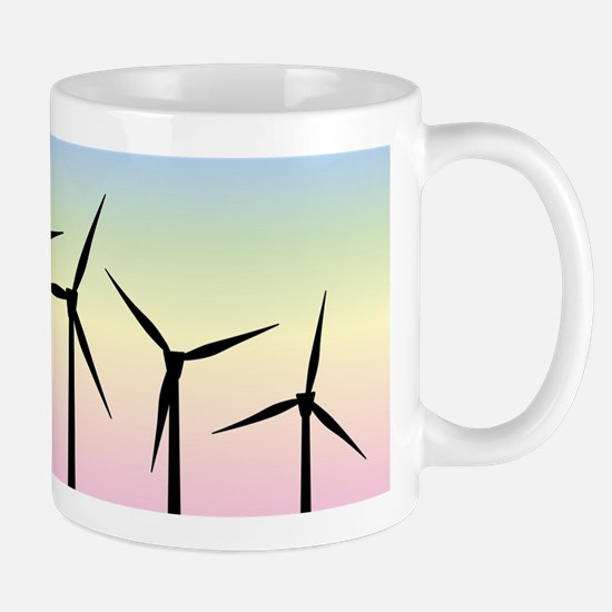Wind Farm Morning Mugs