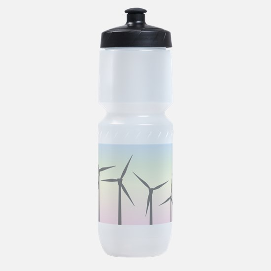 Wind Farm Morning Sports Bottle