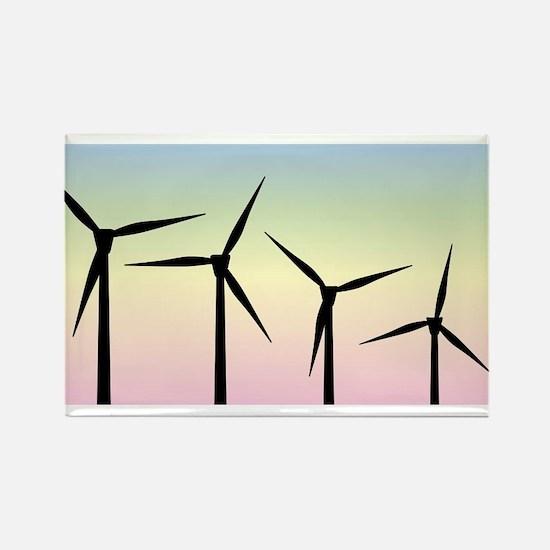 Wind Farm Morning Magnets