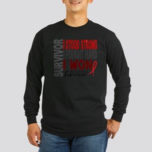 Survivor 4 Heart Attack Shirts and Gifts Long Slee
