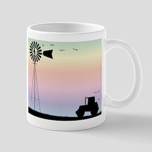 Farm Morning Sky Mugs
