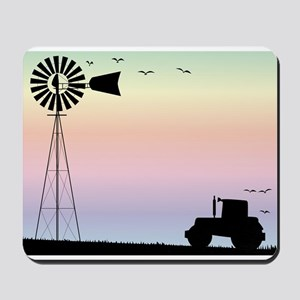Farm Morning Sky Mousepad