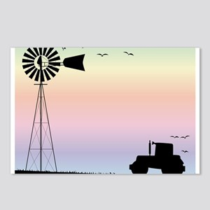 Farm Morning Sky Postcards (Package of 8)