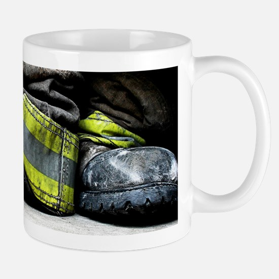 Fire Fighter Boots Mugs