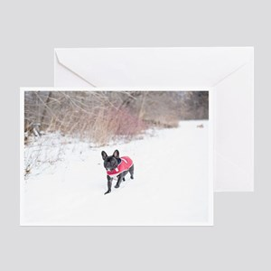 Wintertimes Zoomers Greeting Cards