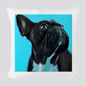 Archie The Dreamer Woven Throw Pillow