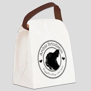 Happy Heart Hugs Canvas Lunch Bag